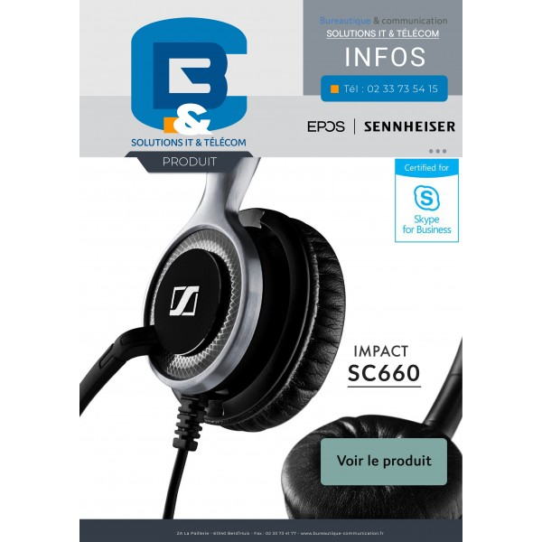 Impact SC660 casque micro by B&C