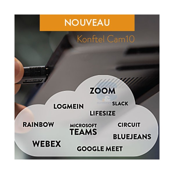 Konftel Cam10 compatible plate forme communication unifiée