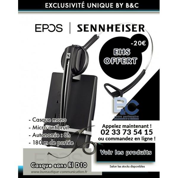 Offre spéciale BC EHS offert et réduction de 20 euros
