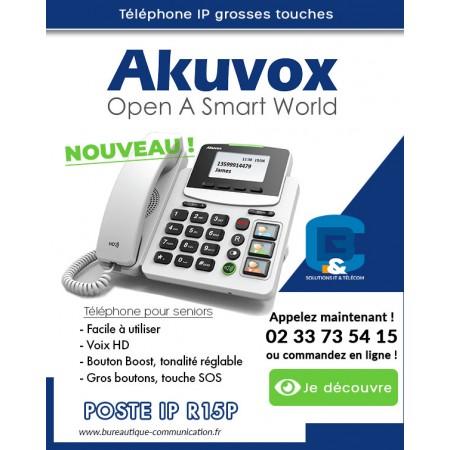 Akuvox HCP-R15P apporte une solution rentable et de haute qualité aux seniors.