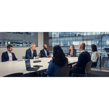 solutions audio haut de gamme conçues pour les salles de réunion.