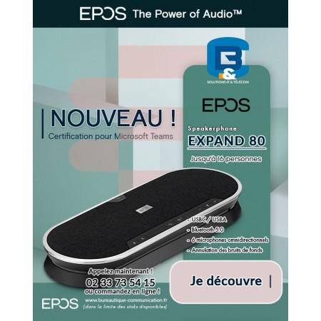 Micro pour réunion  EXPAN80 | EPOS, speakerphones de pointe pour les petites et grandes salles de réunion